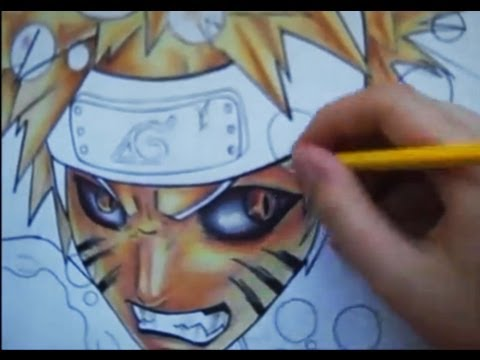 Drawing Naruto kyubi mode and ichigo hollow, better pic at : http://polaara.deviantart.com/#/d3ut1tw IVE HAD TO CHANGE THE AUDIO BECAUSE OF COPYRIGHT (I KNOW RIGHT IT SUCKS) This drawing consists of cop...