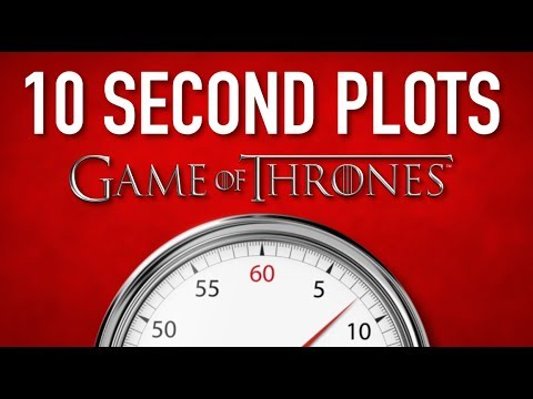'Game of Thrones' in 10 Seconds