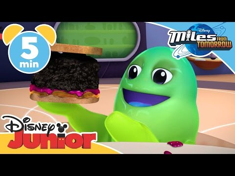 Miles From Tomorrow | The Blobbysitters | Disney Junior UK