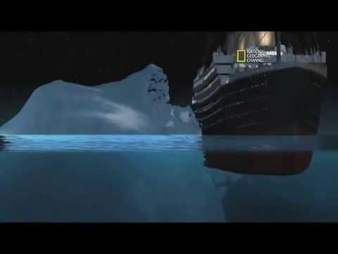 R.M.S TITANIC: Simulação do naufrágio e fotos de objetos e partes do navio