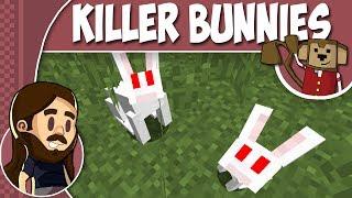 Minecraft Tutorial 1.8 - How To Summon Killer Rabbit Of Caerbannog ! ! !