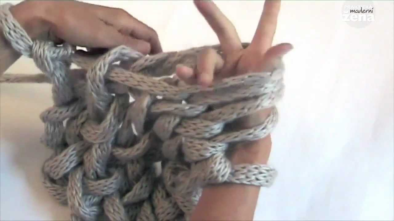 Knitting With Hands Only : Pleteme rukama knitting hands only youtube
