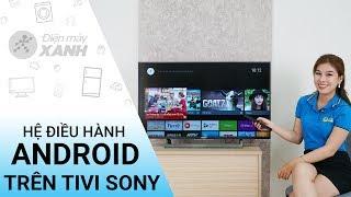 Hệ điều hành android trên tivi Sony có gì đặc biệt? - Những điều cần biết