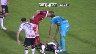 Corinthians X Santos SEMI-FINAL Libertadores Da