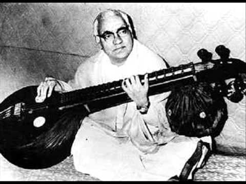 Excerpts in carnatic music. VEENA - shree raga tanam by emani shankara shastri