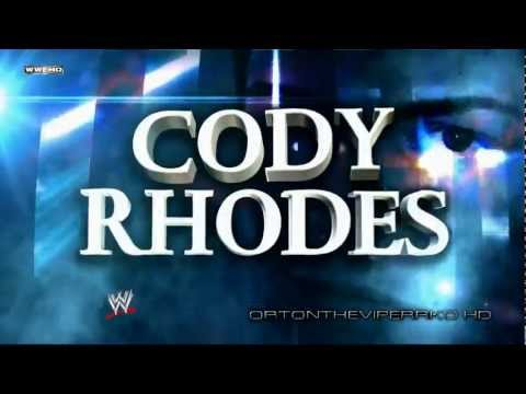 WWE 2012: Cody Rhodes New Theme and Titantron (V2) -