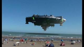 OVNI EN MONTE HERMOSO AMAZING UFO ARGENTINA