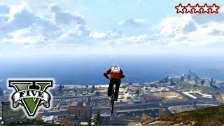 Grand Theft Auto 5 Gameplay BMX Stunts And Jumps!!! Gta