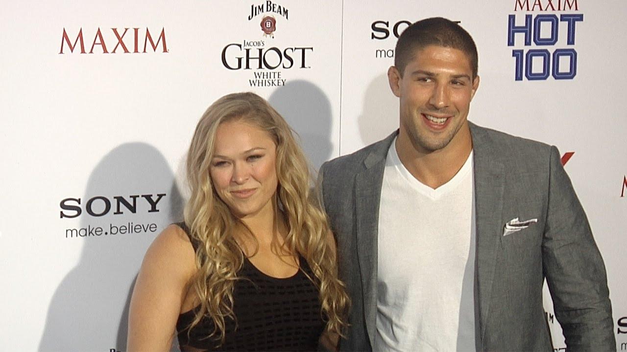 Ronda Rousey couple