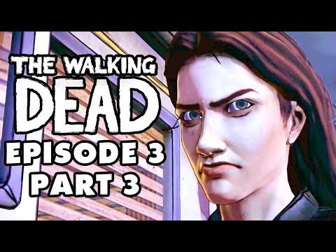 The Walking Dead Game - Episode 3, Part 3 - Argument on the Road (Gameplay Walkthrough)