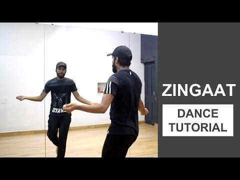 Zingaat Dance Tutorial | Deepak Tulsyan Choreography | Bollywood Dance Tutorial | Hindi