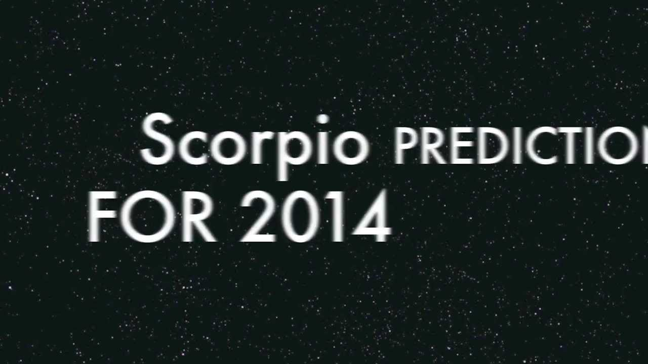 Scorpio Predictions 2014