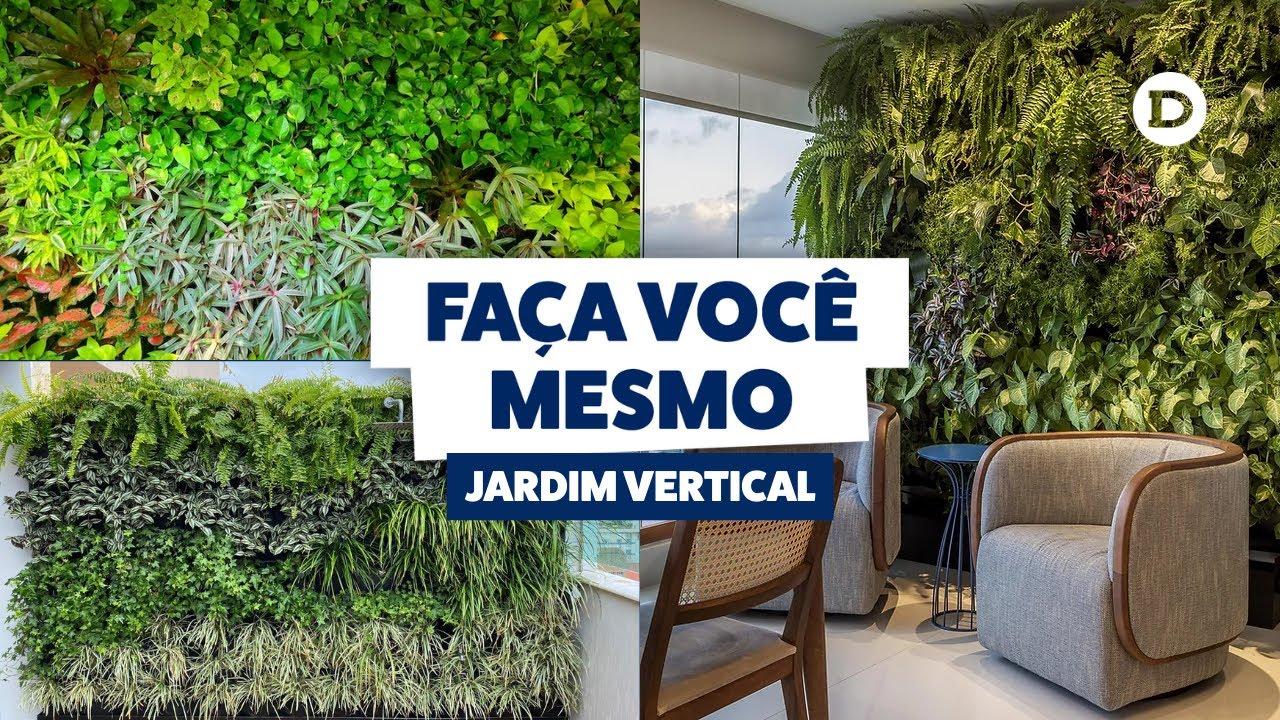 cerca para jardim vertical : cerca para jardim vertical:Faça você mesmo: Jardim Vertical – YouTube
