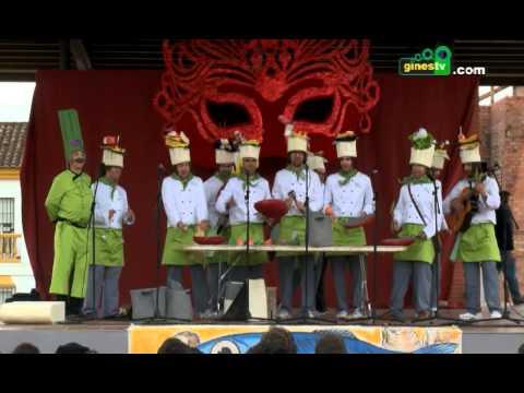 El VIII Entierro de la Sardina cerró el Carnaval de Gines 2014 con una jornada de convivencia