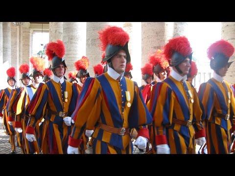 Thế Giới Nhìn Từ Vatican 07/05 – 13/05/2015: Đội Vệ binh Thuỵ Sĩ