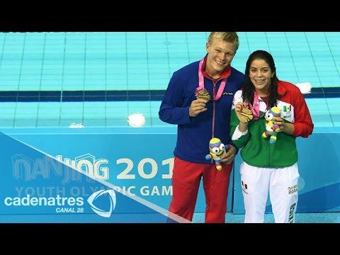 Alejandra Orozco da a México su primer oro en Nanjing 2014