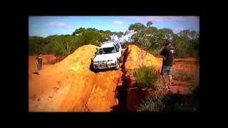 mitsubishi challenger getting dirty