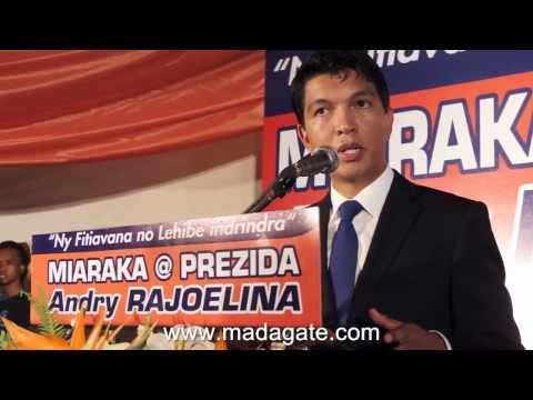 Andry Rajoelina. Seza hoe? 21.02.2014