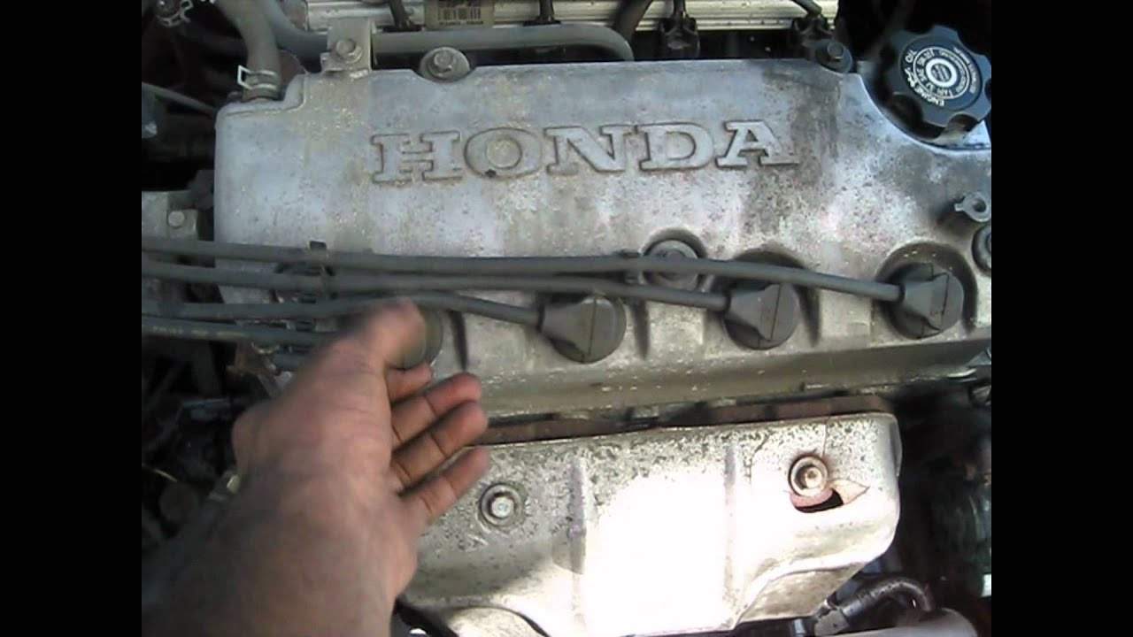 1999 Honda Civic 4cyl  Spark Plugs  Wires How To Replace