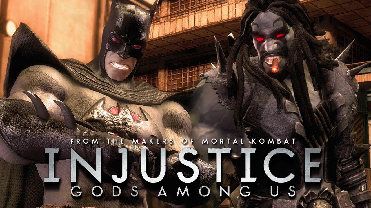 Injustice: Gods Among Us - Batman Flashpoint vs Lobo