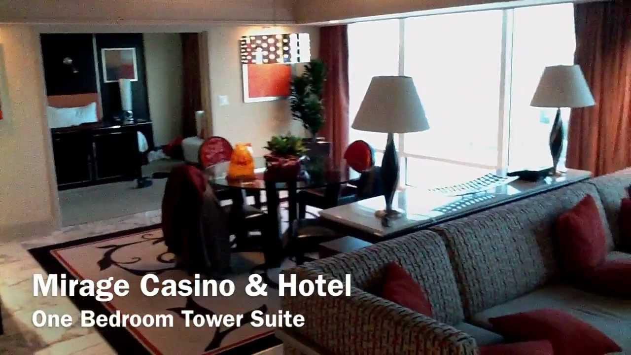 mirage casino one bedroom tower suite tour
