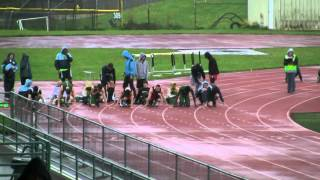 MTHS Track And Field 2012 Boys 100 Meter Dash