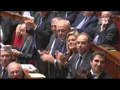 Echange Vif entre Guillaume Larrivé et Jean-Marc Ayrault sur la politique générale