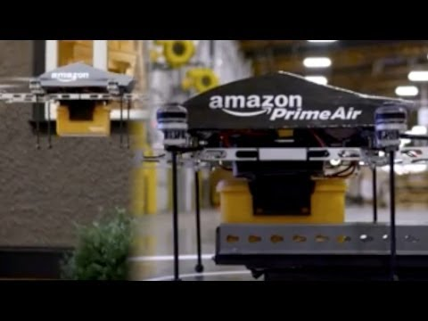 Amazon Prime Air Finally Makes Drones Useful