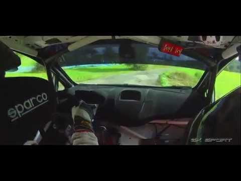 IRC Rally Barum 2010 - s2000 in car