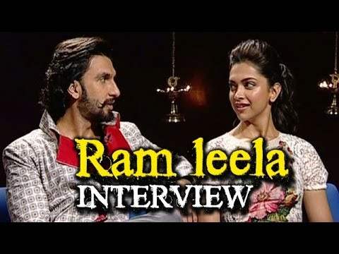 Ram leela - Deepika Padukone & Ranveer Singh talk about their roles | Bollywood News
