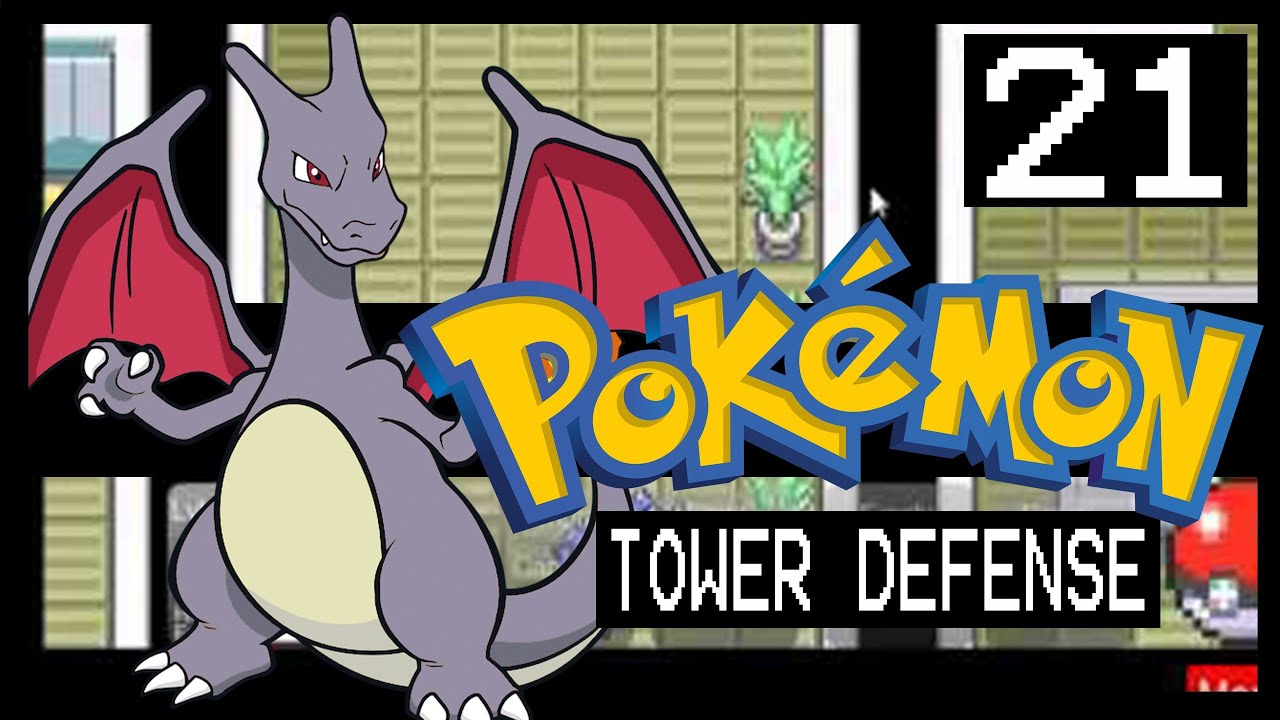 POKEMON TOWER DEFENSE WALKTHROUGH - ROCKET HIDEOUT - YouTube