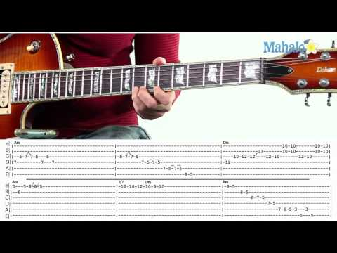 Mahalo Guitar Solo Course: 12 Bar Blues Solo