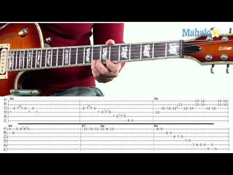 Mahalo Guitar Solo Course: 12 Bar Blues Solo