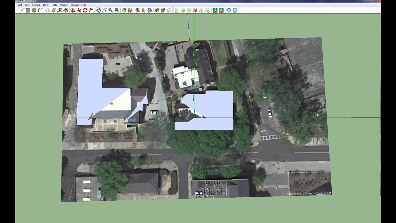 Importar edificios 3d google earth sketchup for Google house builder