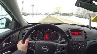 2013 Opel Insignia 2.0 Turbo 249hp AT POV Test Drive. MegaRetr