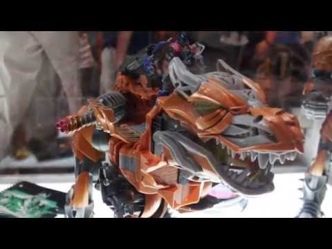 Botcon 2014 Reveals! Transformers Age Of Extinction Lockdown, Snarl & MORE!