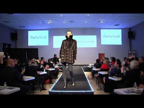 Kathy Ireland American Legend Fashion Show 2012 Fall Fur Collection for Macy's Fur Vault New York