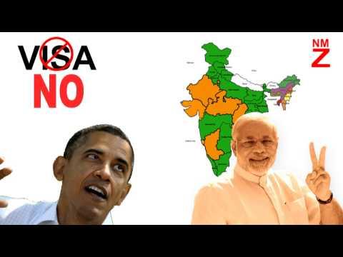 Narendra Modi vs Obama