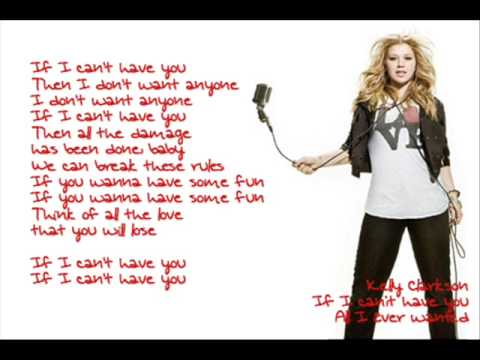 Kelly Clarkson - All I Ever Wanted Live HD. - YouTube