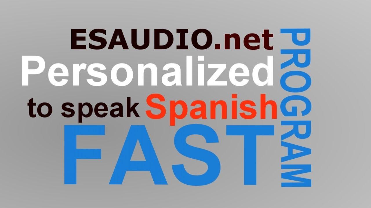 Speak spanish fast
