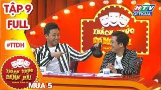 THÁCH THỨC DANH HÀI   Rap Con Heo của nữ thí sinh khiến Giang - Thành ngỡ ngàng   TTDH #9 MÙA 5 FULL
