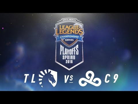 TL vs. C9    NA LCS Spring Playoffs   Quarterfinals Game 3   Team Liquid vs. Cloud9 (2018)
