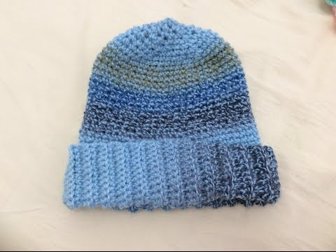 Móc mũ len  phần 1 - How to crochet a hat tutorial part 1