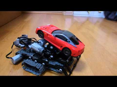 Lego Technic Incline Car Ferrari 599GTO Red 11