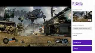 Twitch Broadcasting On Xbox One March 11th (Video preview)
