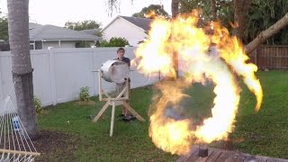 GoPro: Fire Vortex Cannon with the Backyard Scientist