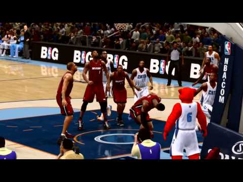 Kidd Gilchrist gets to the hoop NBA Live 14