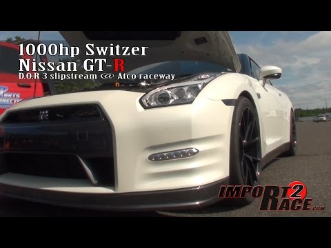 1000hp Switzer Nissan GT-R 2 run pass