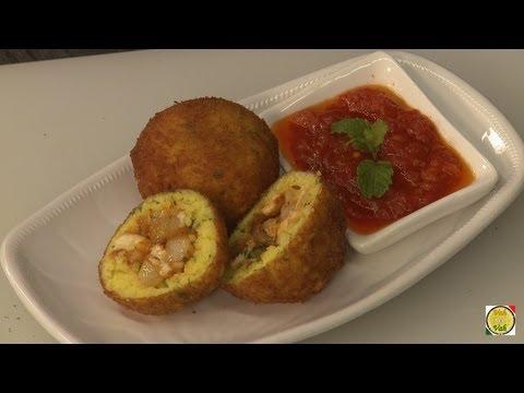 Masala Rice Balls - Arancini di Riso Recipe