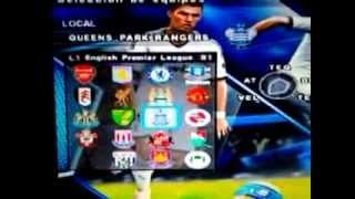 PES 2013 Tutorial Option File PS2